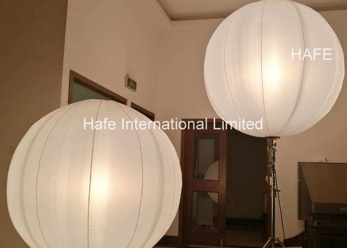 Pearl 160 Inflatable Lighting Decoration , White Color Blow Up Light For Wedding Decoration