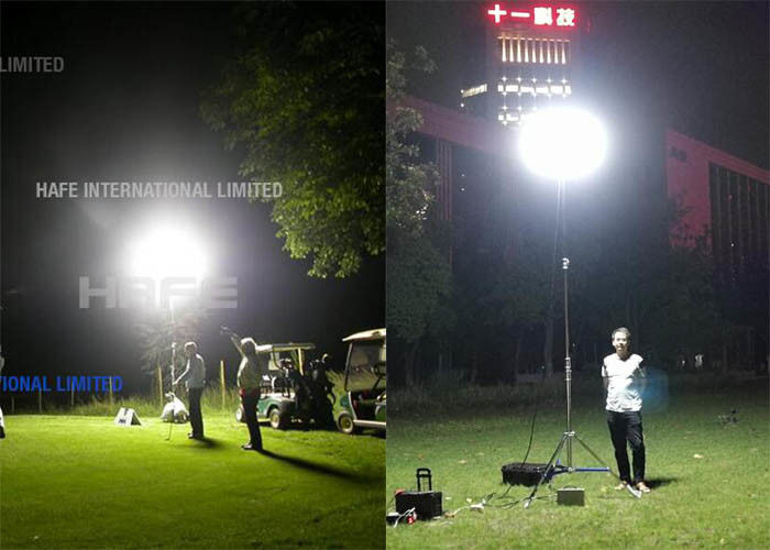 3000W 4000W Illuminate Construction Work Lights With Metal Halide Big Area 8150㎡-9700㎡