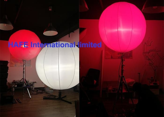 High Bright Inflatable Holiday Decorations With Stainless Tripod And DMX Controler