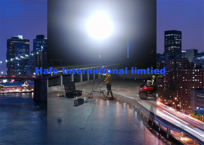 HMI Contruction Emergency Lighting Equipment Portable Balloon Light High Lumens